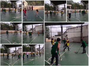 Floorball nas escolas